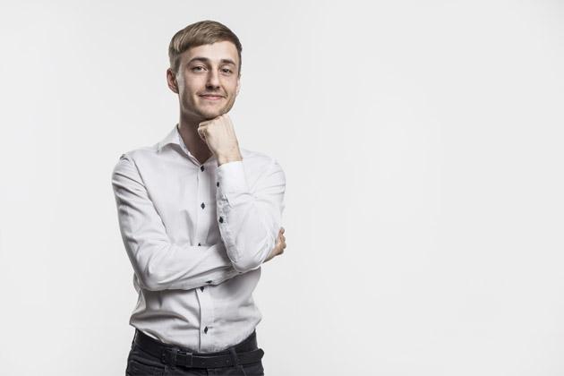 portrait photo of designer Jiří Nosek